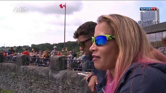 Niágara na visão de uma cega: turista, Terezinha celebra ouros no Parapan