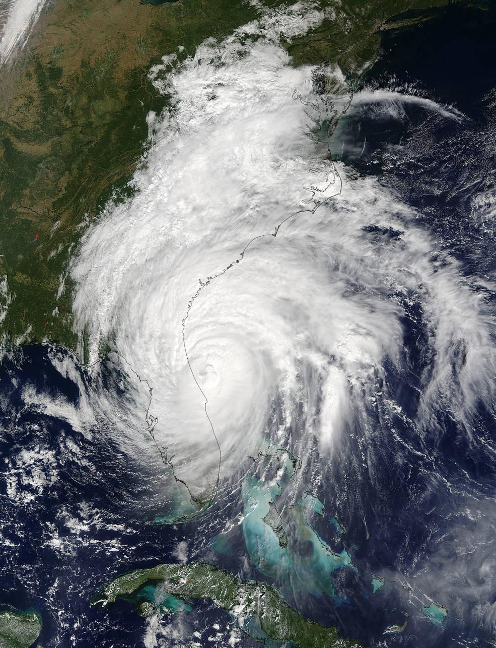 (Foto: Credits: NASA's Goddard MODIS Rapid Response Team)