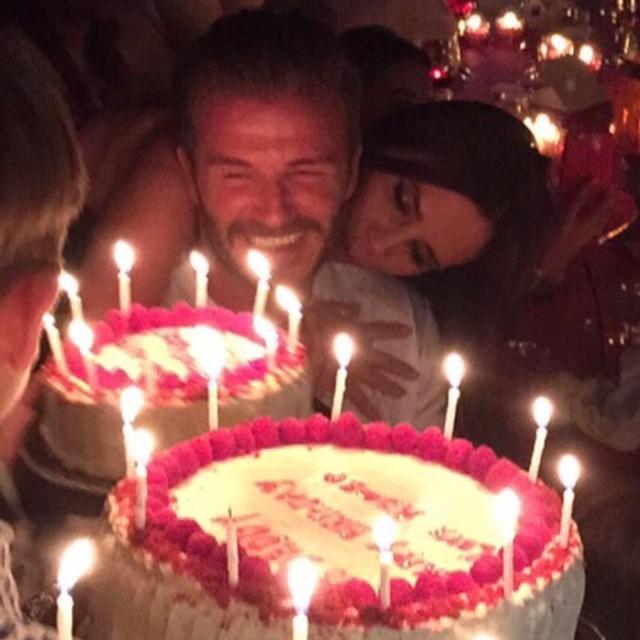 Festa de aniversário de Beckham