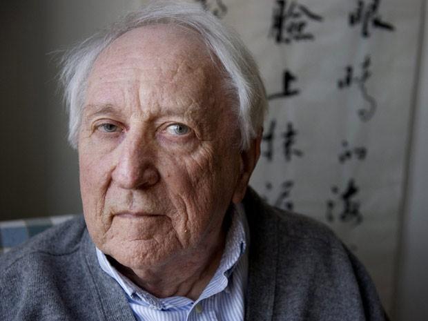 O poeta sueco Tomas Tranströmer,  (Foto: AFP)