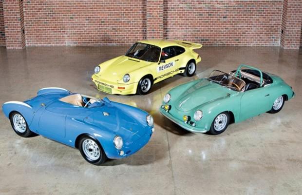 Comediante Jerry Seinfeld colocou 3 Porsches de sua coleção à venda (Foto: Divulgação/Gooding & Company)