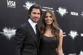 Christian Bale e a mulher, Sibi Blazic (Foto: Agência/ Reuters)