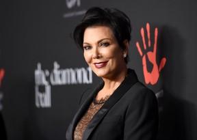 Kris Jenner em evento em Los Angeles, nos Estados Unidos (Foto: Jason Merritt/ Getty Images/ AFP)