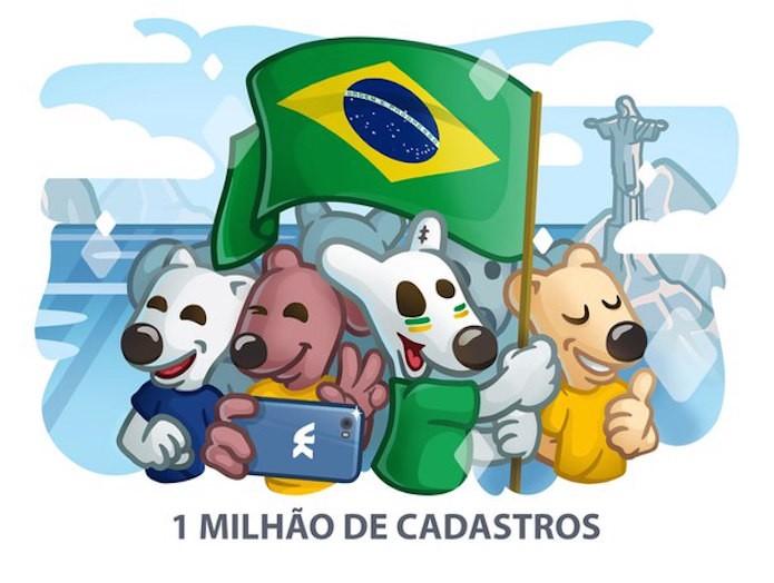 VKontakte Brasil: Orkut russo faz campanha para se aproximar de Brasileiros (Foto: Divulgação/VK)
