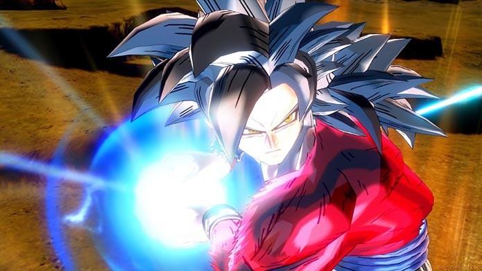 Goku SSJ4 (Foto: Divulgação)