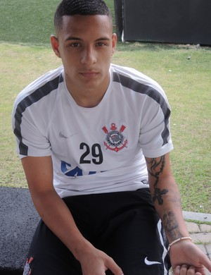 Guilherme Arana Corinthians (Foto: Marcelo Braga)