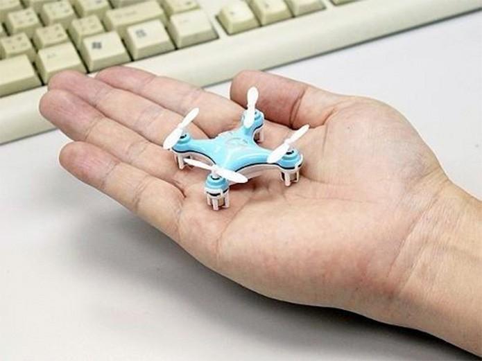 Mini Drone Cheerson Cx 10 é um modelo de brinquedo que cabe na palma da mão (Divulgação/Cheerson)