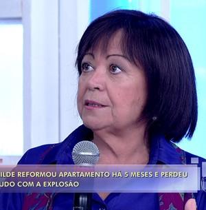 Moradora revela milagres após explosão (TV Globo)