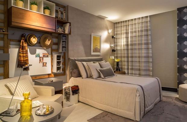 14 quartos nos mais variados estilos Casa Vogue Decoração ~ Quarto Solteiro Moderno