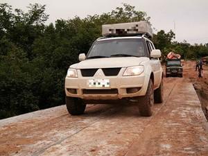 Comunidade quilomboca comemora construção de nova ponte (Foto: Reprodução/Facebook)