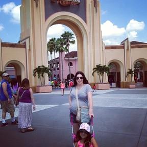 Simony em Orlando, nos EUA (Foto: Instagram/ Reprodução)