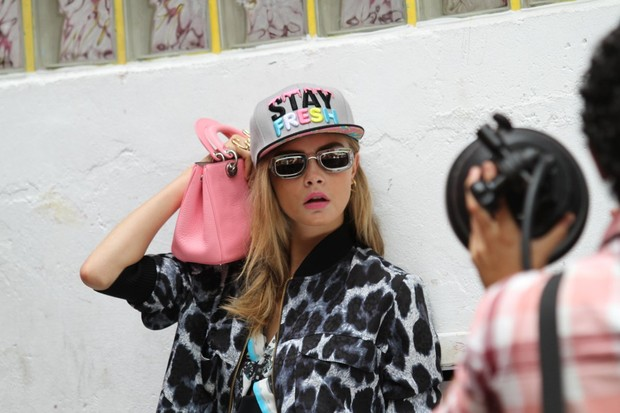 Cara Delevingne (Foto: Henrique Oliveira / Foto Rio News)