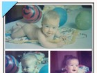 No dia do aniversário, Angélica posta fotos de quando era bebê