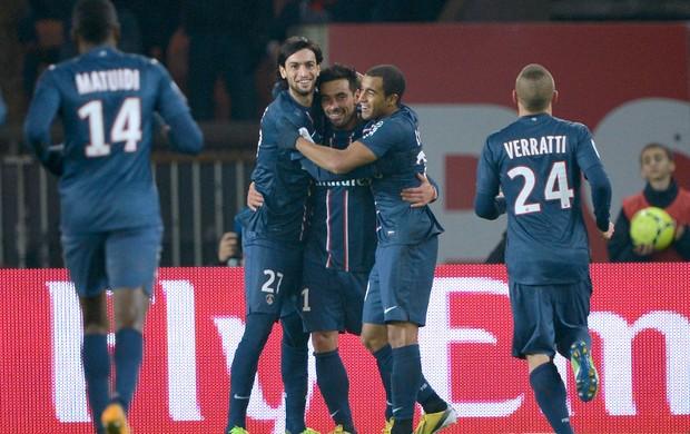 Lucas gol PSG (Foto: AFP)
