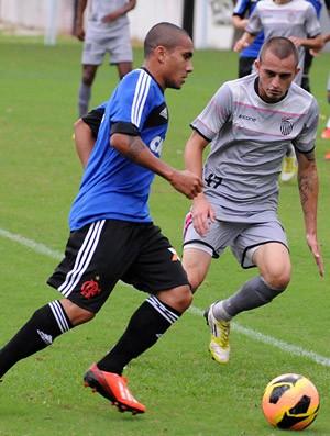 Bruninho Flamengo jogo treino São Cristovão (Foto: Alexandre Vidal/Fla Imagem)