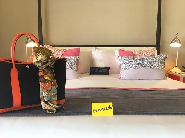Fernanda Vasconcellos curte hotel de luxo no Caribe (Foto: Reprodução / Instagram)