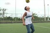 União da prática esportiva com estudos                      (Reprodução TV)