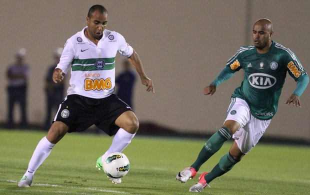 thiago heleno palmeiras deivid coritiba jogo (Foto: Cl&#233;lio Messias/Ag&#234;ncia Estado)