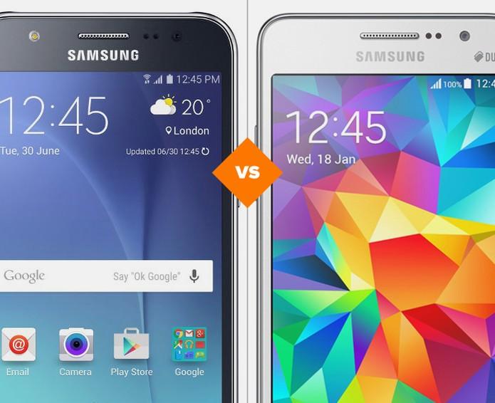 Galaxy J5 ou Galaxy Gran Prime: compare preço e especificações (Foto: Arte/TechTudo)
