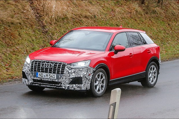 Audi Q2S em testes (Foto: Automedia)