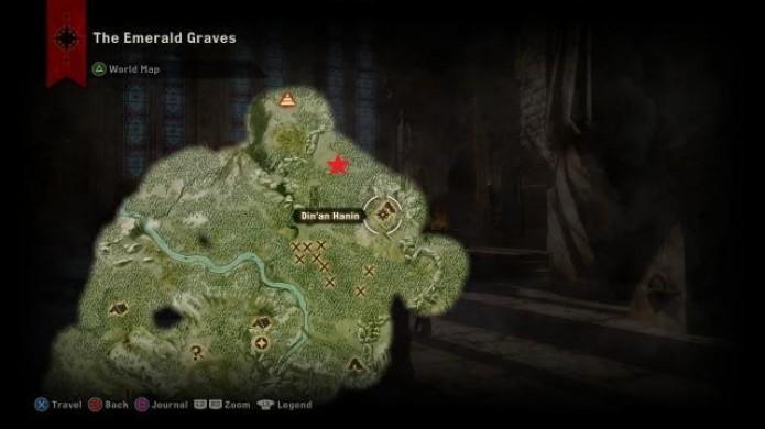 Localização do quinto dragão em Dragon Age Inquisition (Foto: Reprodução/iDigital Times)