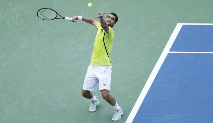 Marin Cilic Cincinnati tênis (Foto: Joe Robbins/Getty Images)