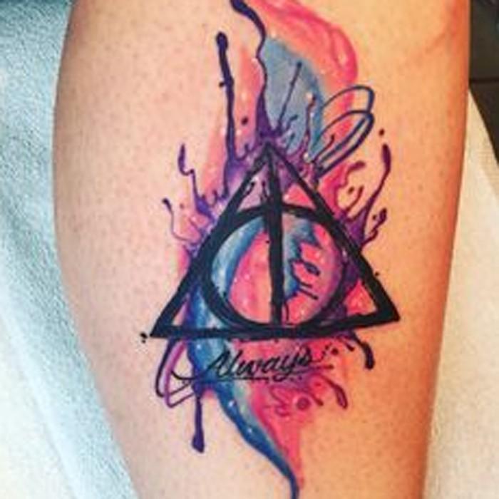 Tatuagem Harry Potter (Foto: Reprodução/Pinterest/Bailey Rankin)