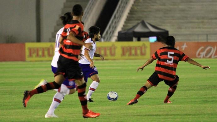 Campinense x Bahia, Copa do Nordeste (Foto: Nelsina Vitorino / Jornal da Paraíba)