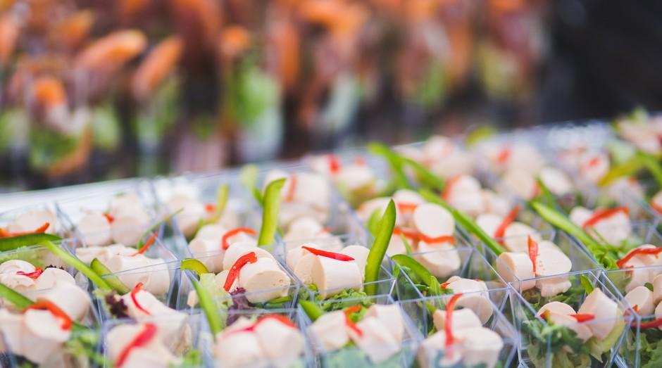 finger food, comida, alimentação, gastronomia, salada, comer (Foto: Reprodução/Pexel)
