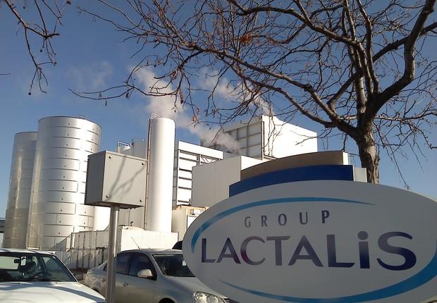 Fábrica do Grupo Lactalis (Foto: Divulgação)