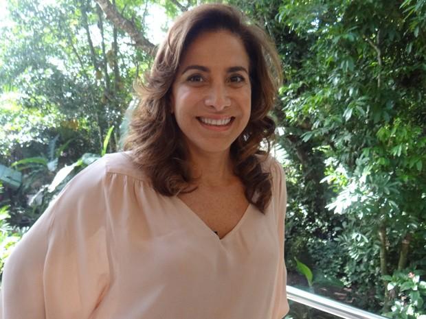 Totia Meirelles confessa que é viciada em farofa (Foto: Mais Você/ TV Globo)
