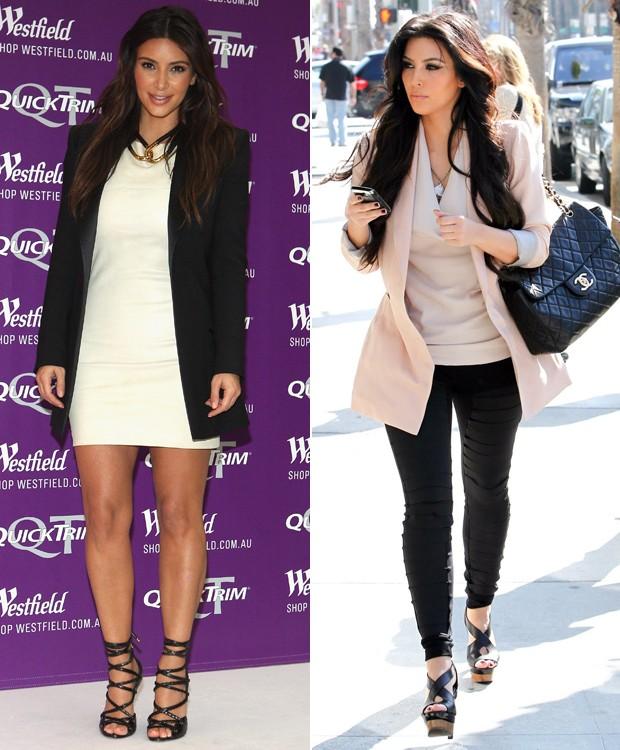 b5cddaa9c Kim Kardashian om os exemplos apontados pela nossa colunista, Gabi Menta, e  o especiliata