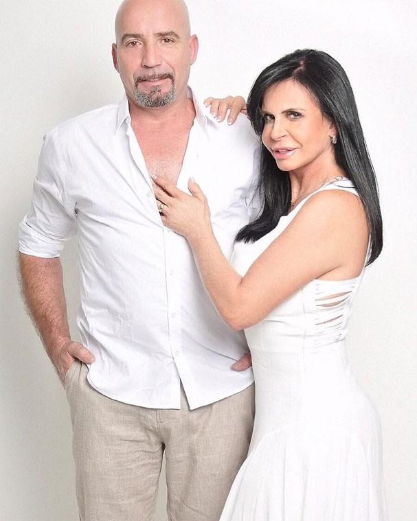 Carlos Marques e Gretchen estarão no reality show (Foto: Reprodução/Instagram)