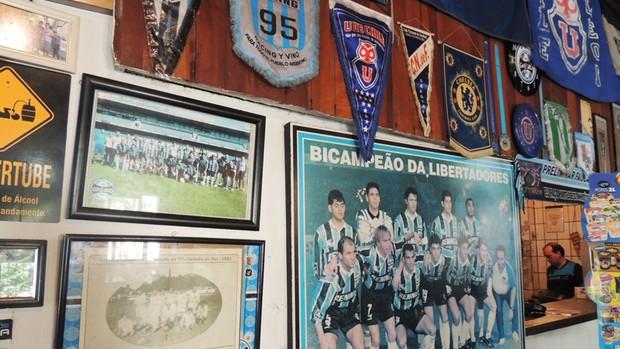 faísca bar olímpico grêmio (Foto: Lucas Rizzatti/Globoesporte.com)