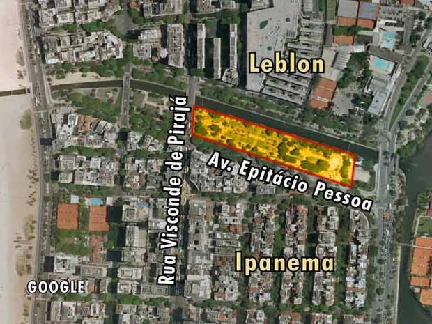 Mapa 1 Jardim de Alá (Foto: Editoria de Arte)