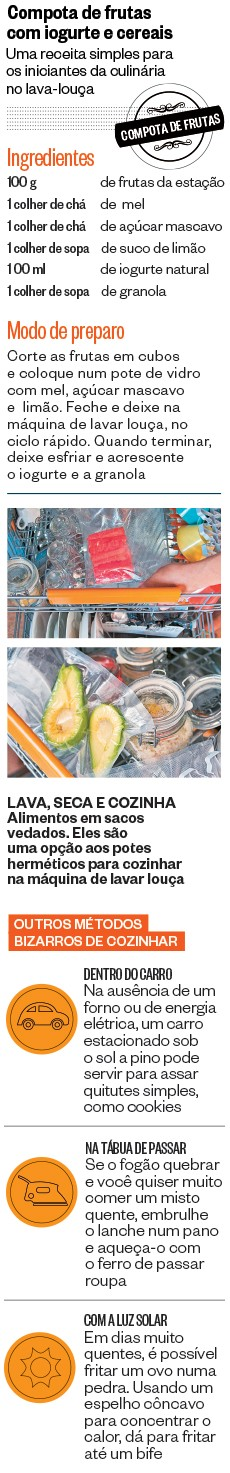 Compota de frutas com iogurte e cereais (Foto: ÉPOCA)