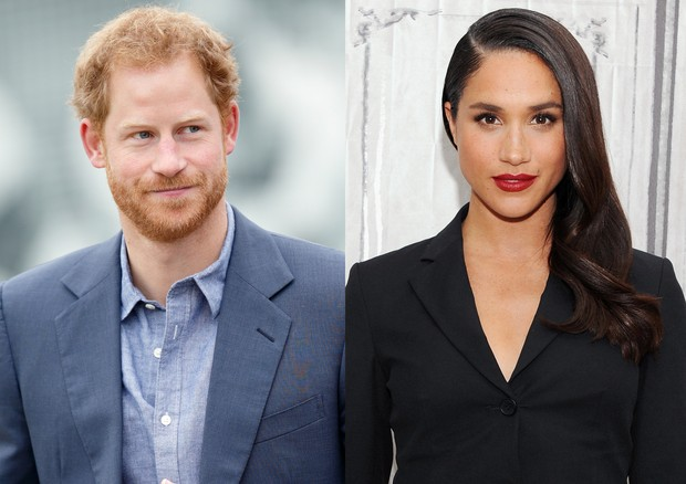 Príncipe Harry assumiu namoro com Meghan Markle (Foto: Getty Images)