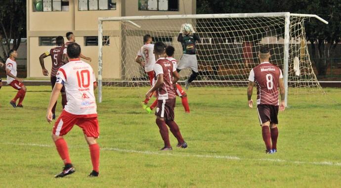 Baré 2 x 2 Atlético Roraima - quinta rodada do returno 2017 (Foto: Imagem/Tércio Neto)