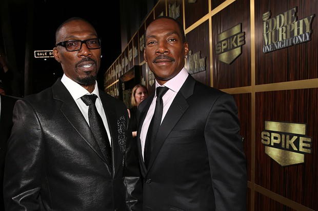 Charlie Murphy e Eddie Murphy (Foto: Getty Images)