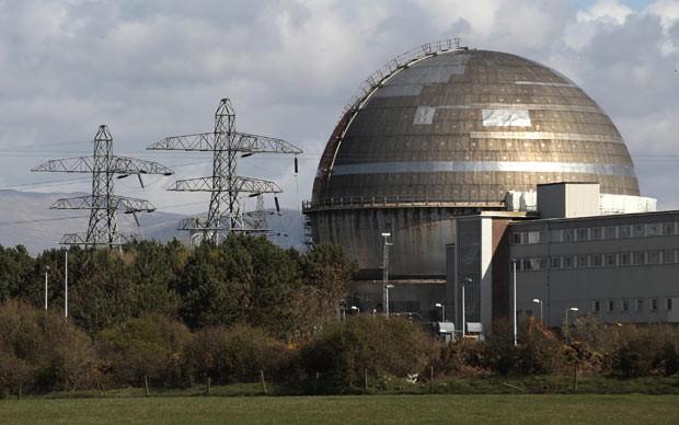 Central nuclear de Sellafield em 12 de abril de 2011 (Foto: AFP)