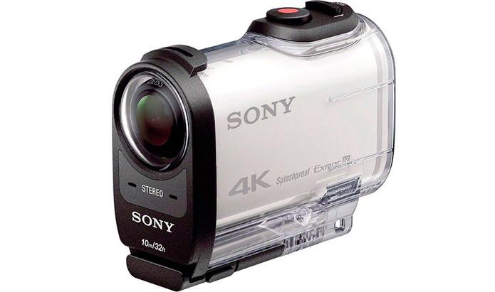 Action Cam da Sony registra vídeos em 4K e tem lentes Zeiss (Foto: Divulgação/Sony)