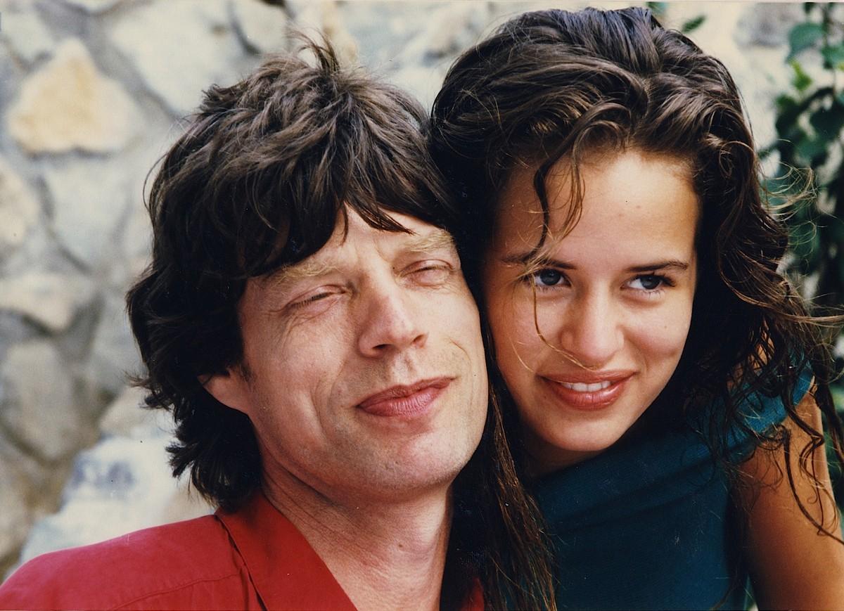 Mick e Jade Jagger. (Foto: Divulgação)