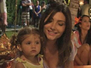 Filha e esposa de Daniel (Foto: TV Xuxa/ TV Globo)