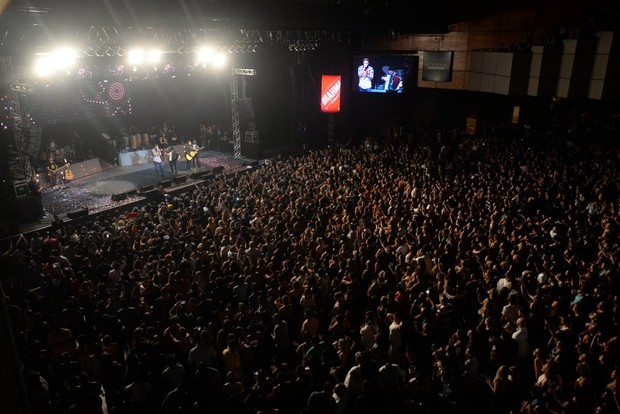 Show Henrique e Juliano (Foto: Leo Marinho/Divulgação)