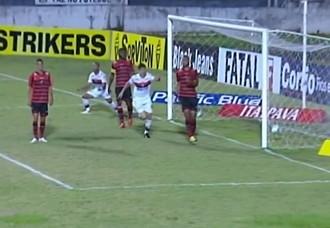 Oeste x Atlético-GO Campeonato Brasileiro Série B (Foto: Reprodução / Premiere FC)