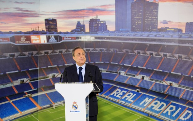 Florentino Pérez, presidente do Real Madrid (Foto: Agência Getty Images)