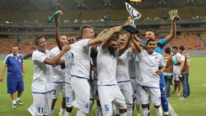 Nacional é campeão da taça Leão Forte da Amazônia (Foto: Gabriel Mansur)