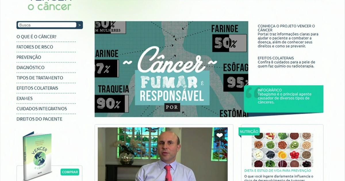 Médicos lançam site sobre sintomas, tratamentos e prevenção do câncer