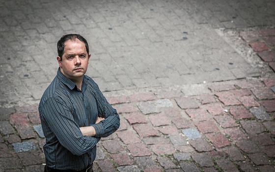 Juan Severo,36 anos graduado em administração (Foto: André Feltes/ÉPOCA)