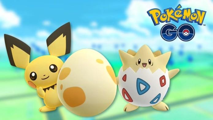 Pichu e Togepi são as novidades em Pokémon GO (Foto: Divulgação/Niantic)